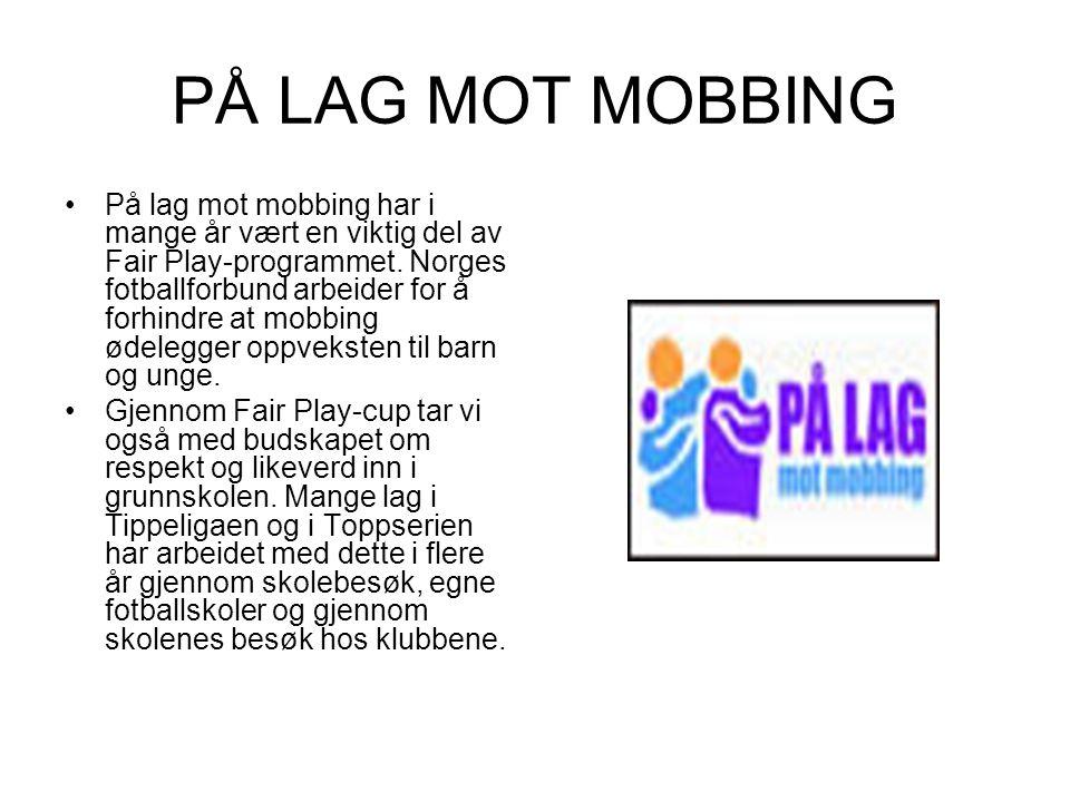 PÅ LAG MOT MOBBING