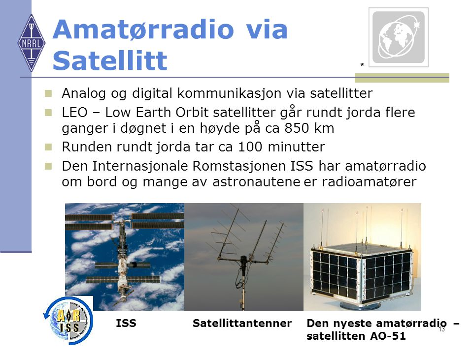 Amatørradio via Satellitt