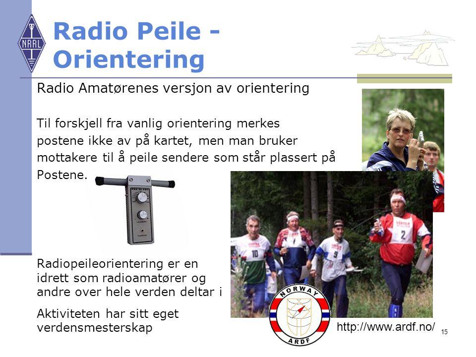 Radio Peile - Orientering