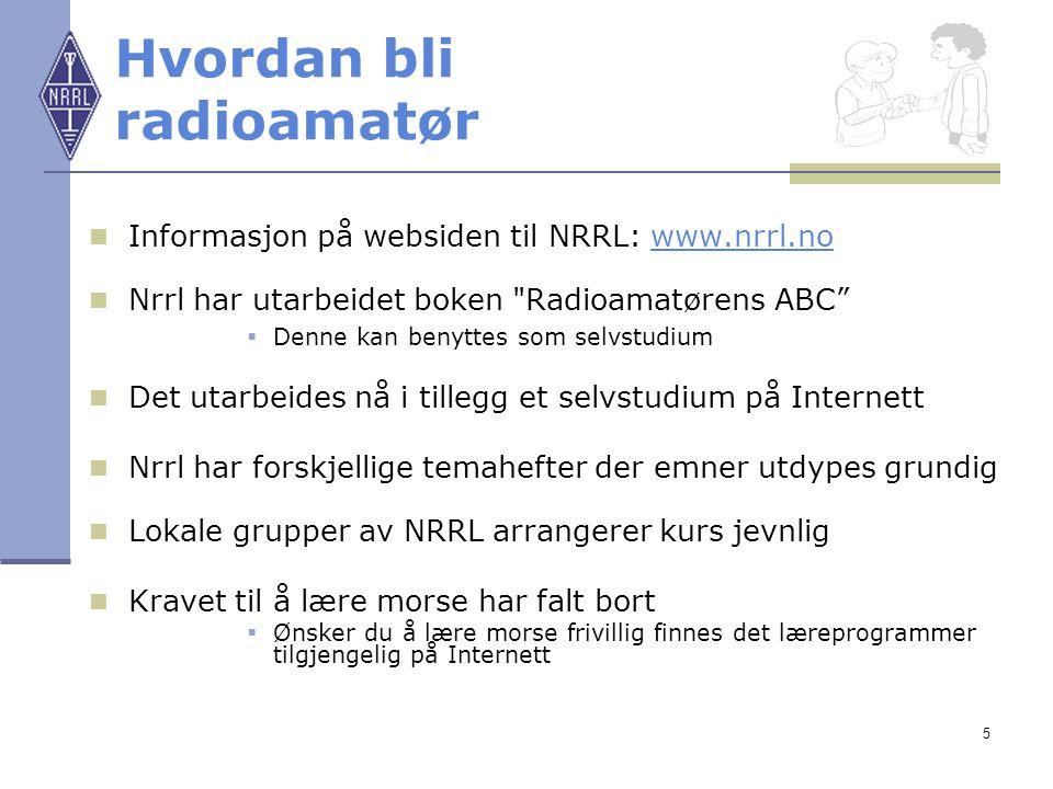 Hvordan bli radioamatør