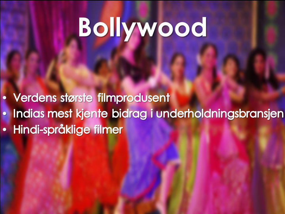 Bollywood Verdens største filmprodusent