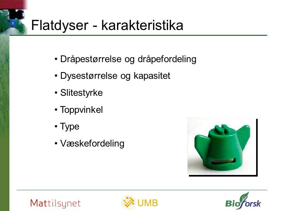 Flatdyser - karakteristika