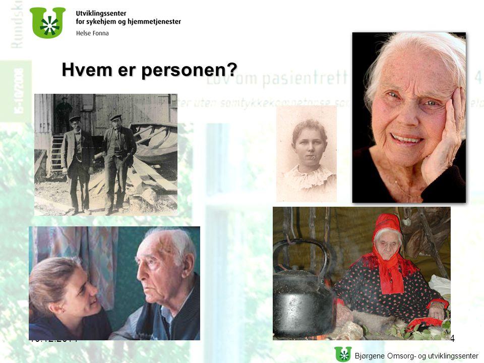 Hvem er personen