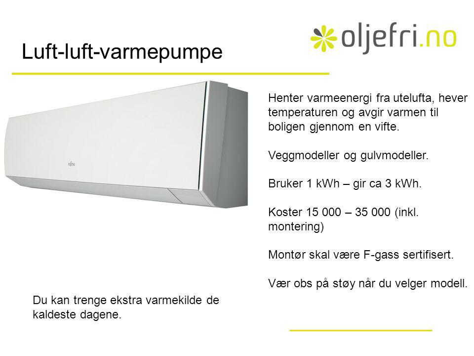 Luft-luft-varmepumpe