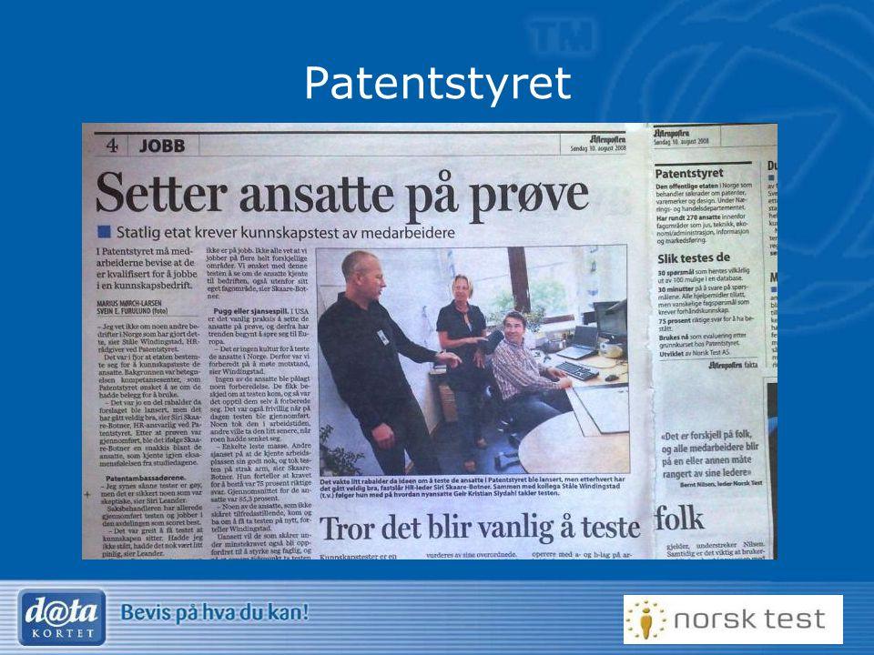 Patentstyret