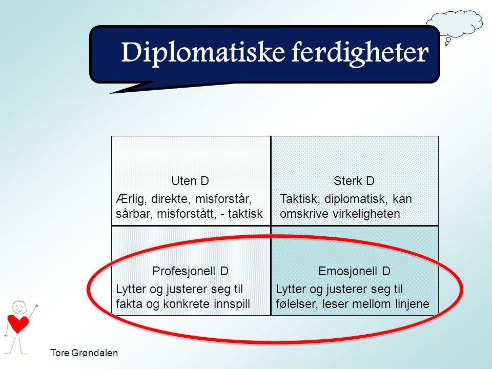 Diplomatiske ferdigheter