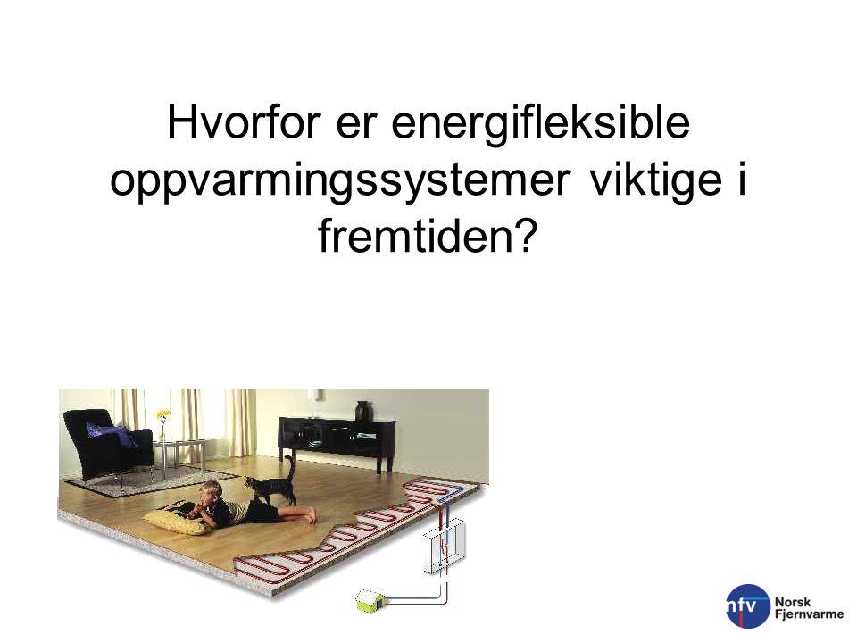 Hvorfor er energifleksible oppvarmingssystemer viktige i fremtiden