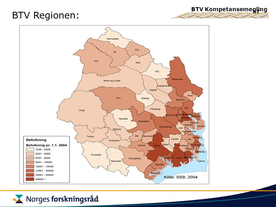BTV Regionen: BT