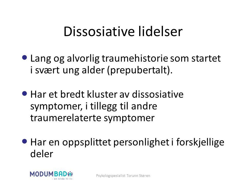Dissosiative lidelser
