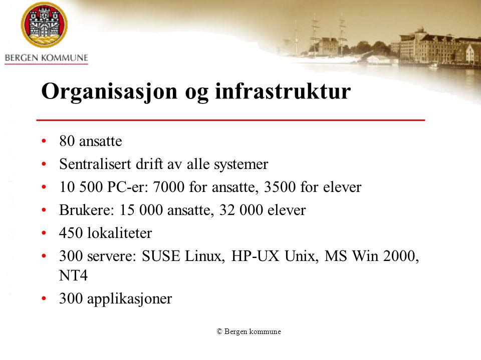Organisasjon og infrastruktur