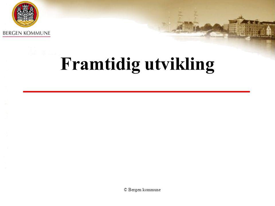 Framtidig utvikling © Bergen kommune