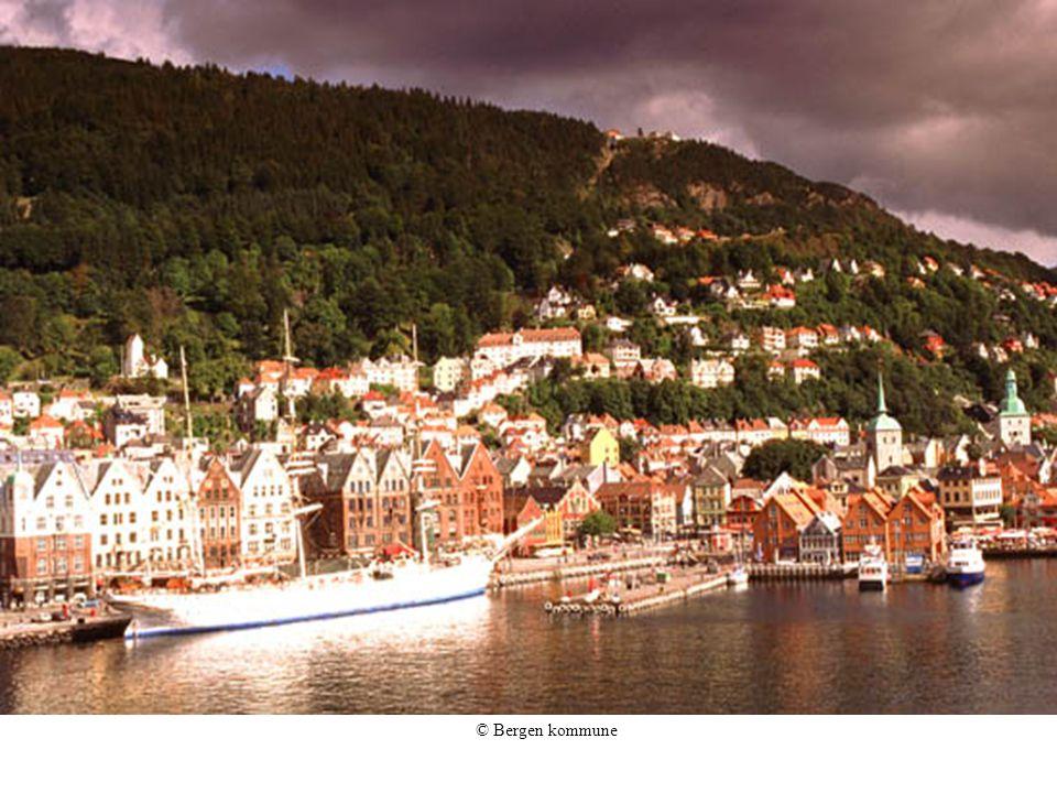 Den gamle havnen i Bergen