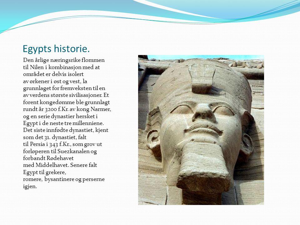 Egypts historie.
