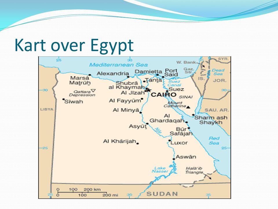 Kart over Egypt