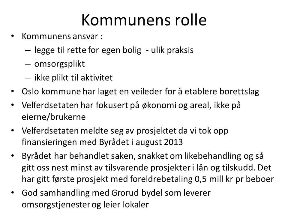 Kommunens rolle Kommunens ansvar :