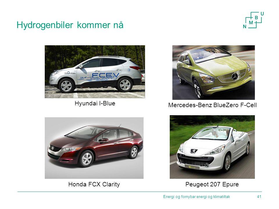 Hydrogenbiler kommer nå