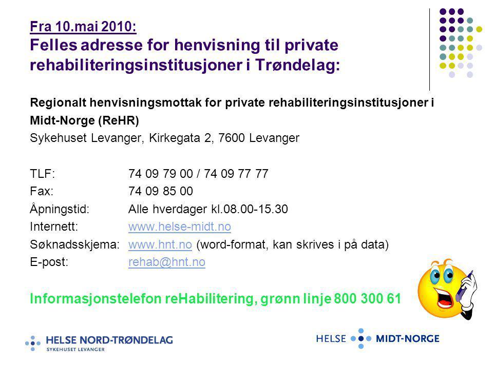 Informasjonstelefon reHabilitering, grønn linje 800 300 61