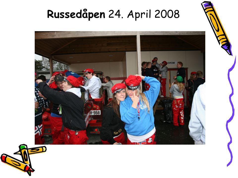 Russedåpen 24. April 2008