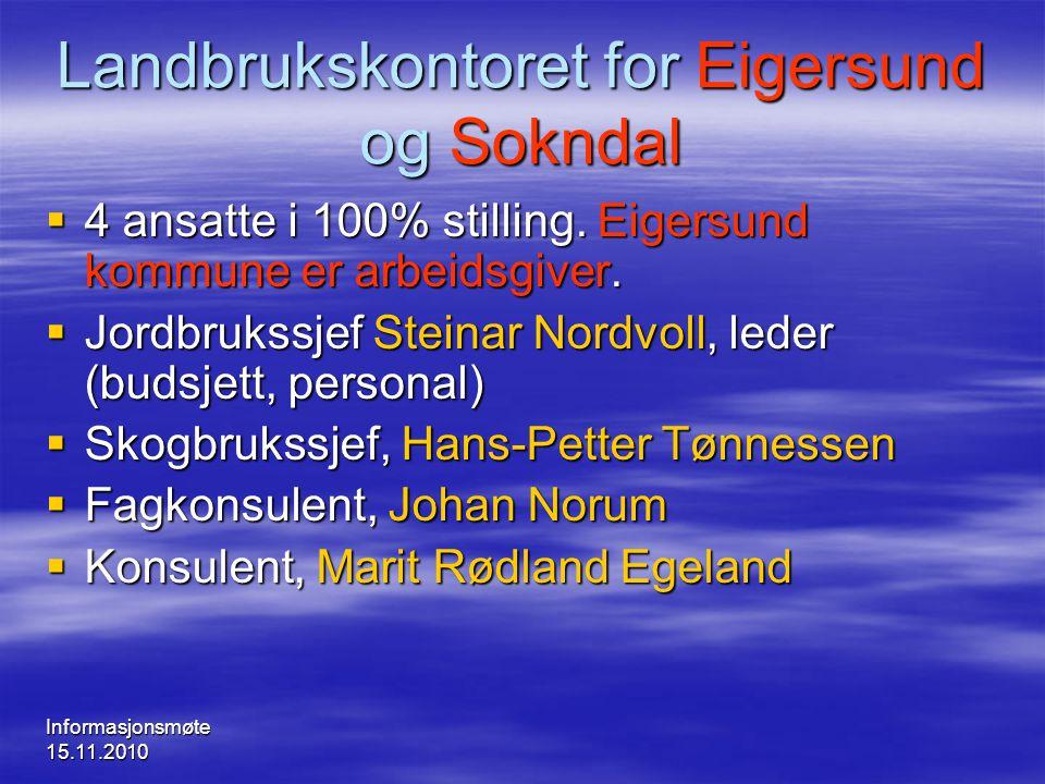 Landbrukskontoret for Eigersund og Sokndal
