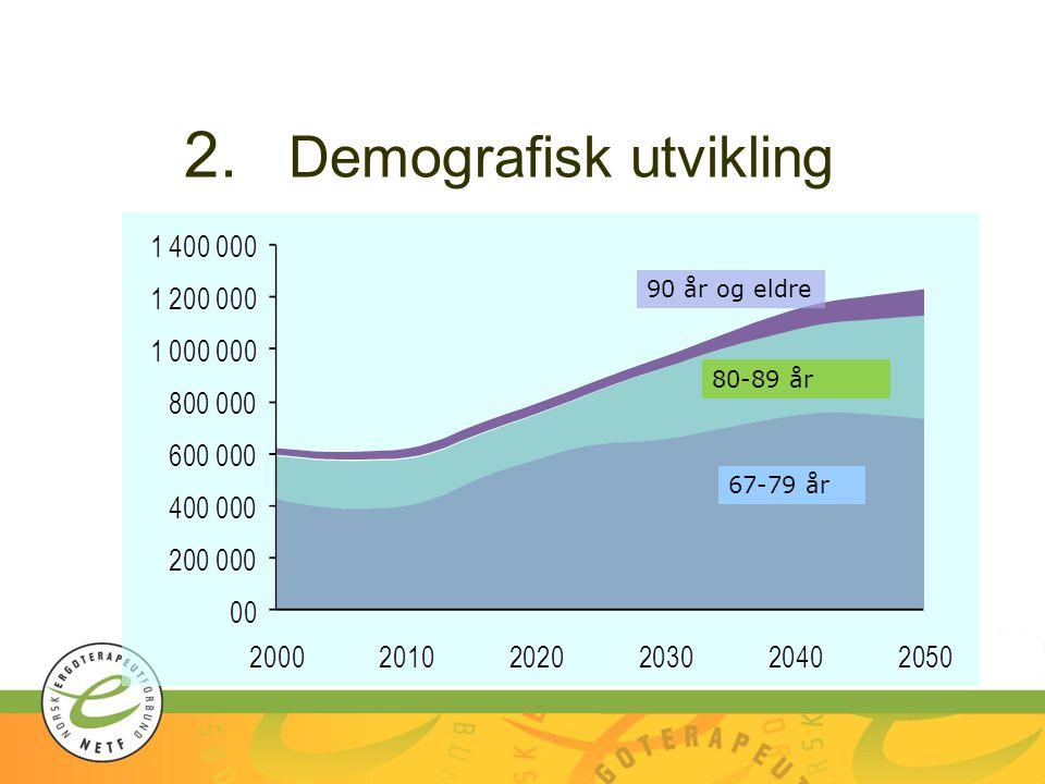 2. Demografisk utvikling