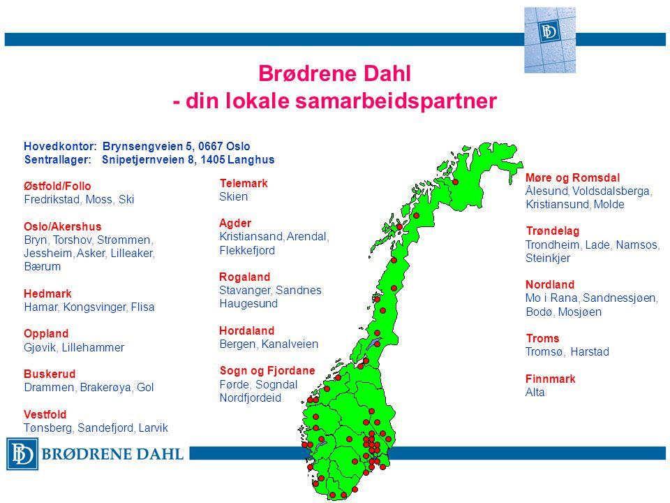 Brødrene Dahl - din lokale samarbeidspartner