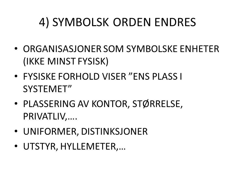 4) SYMBOLSK ORDEN ENDRES