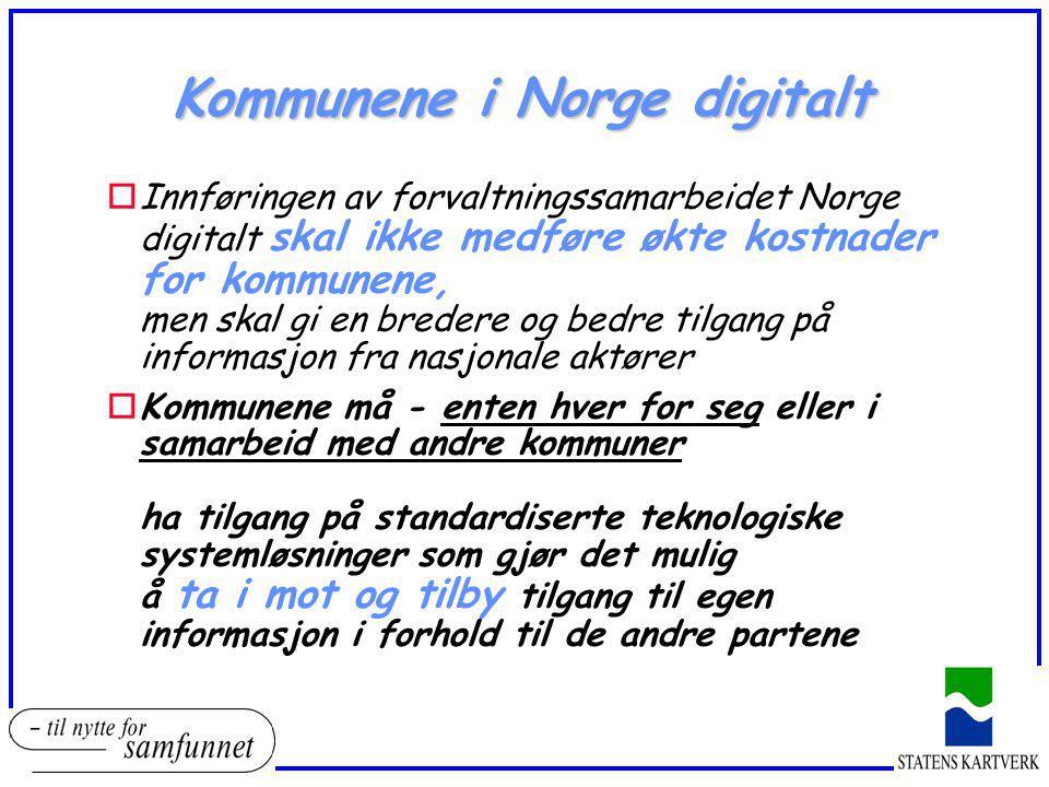 Kommunene i Norge digitalt