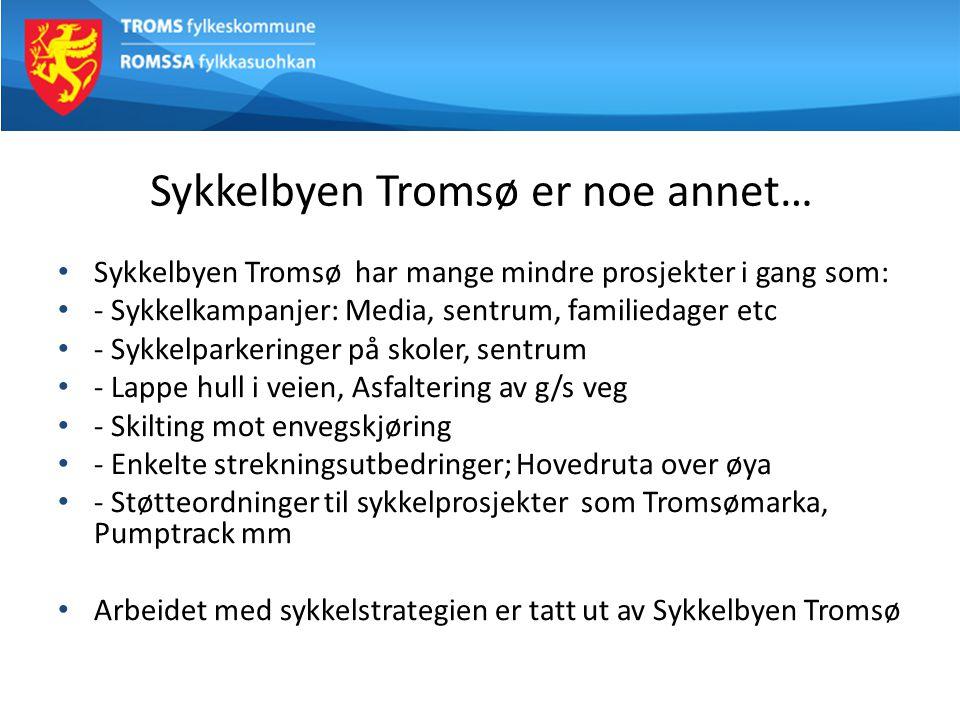 Sykkelbyen Tromsø er noe annet…