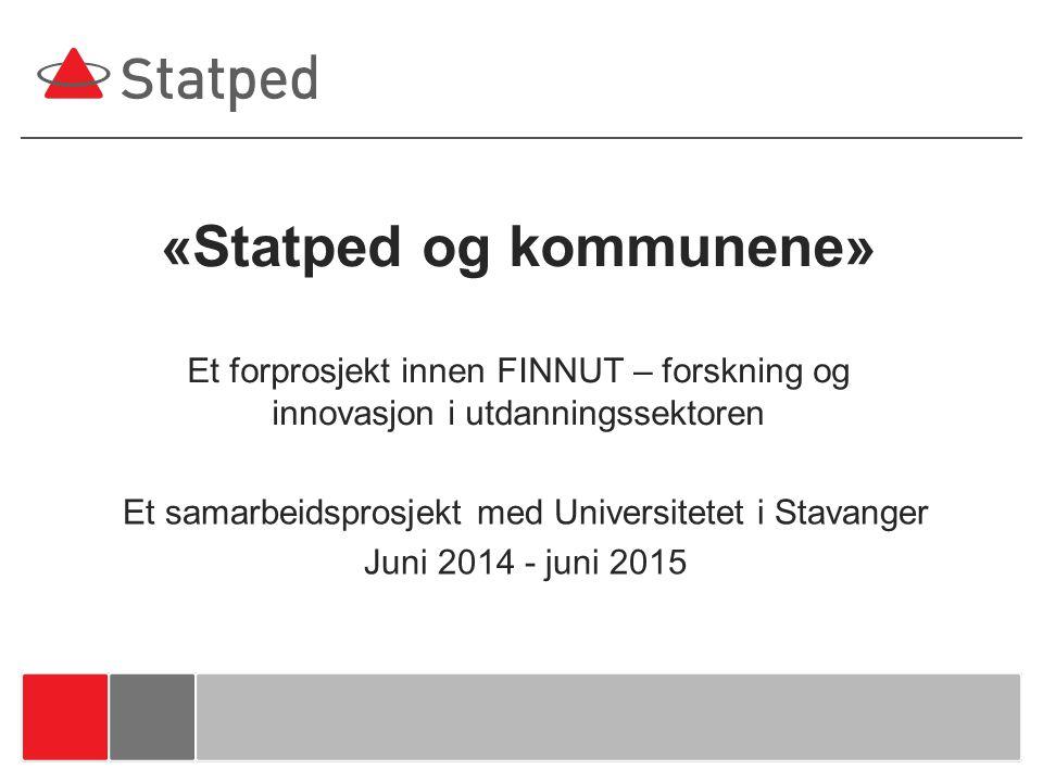 Et samarbeidsprosjekt med Universitetet i Stavanger