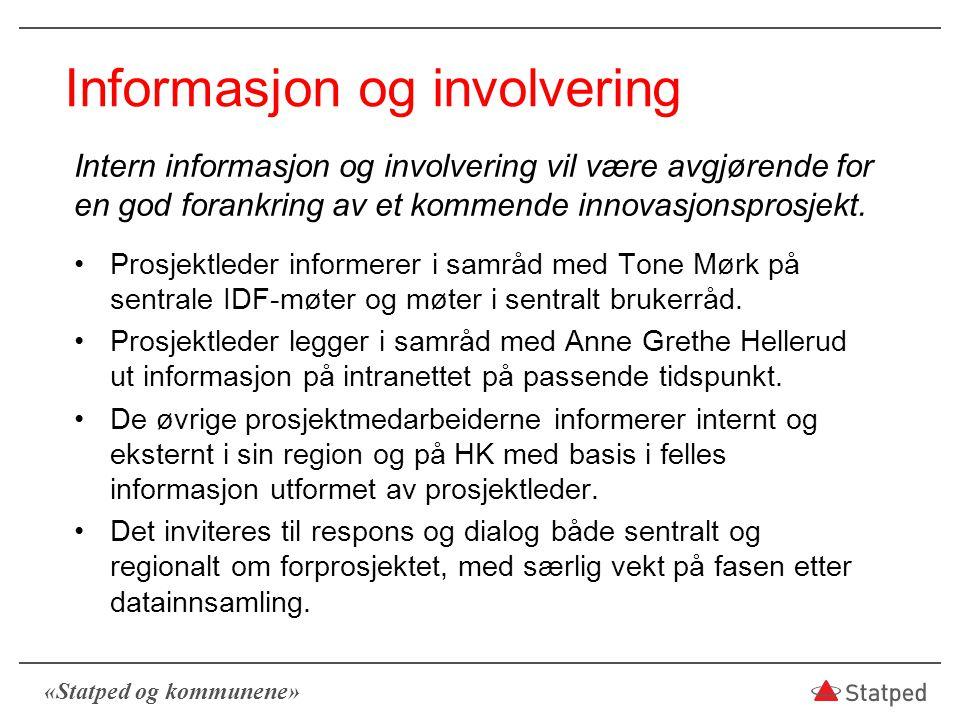 Informasjon og involvering