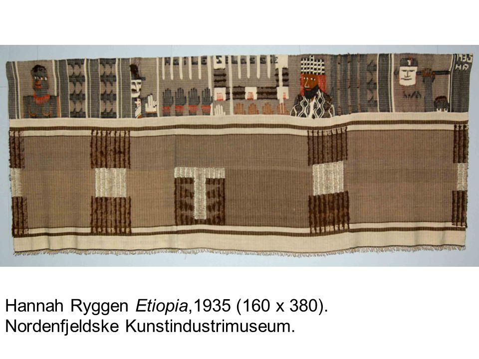 Hannah Ryggen var politisk engasjert