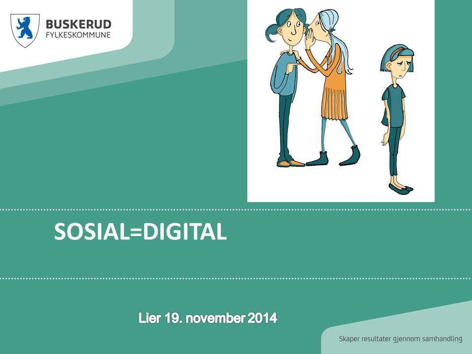 Sosial=digital Lier 19. november 2014