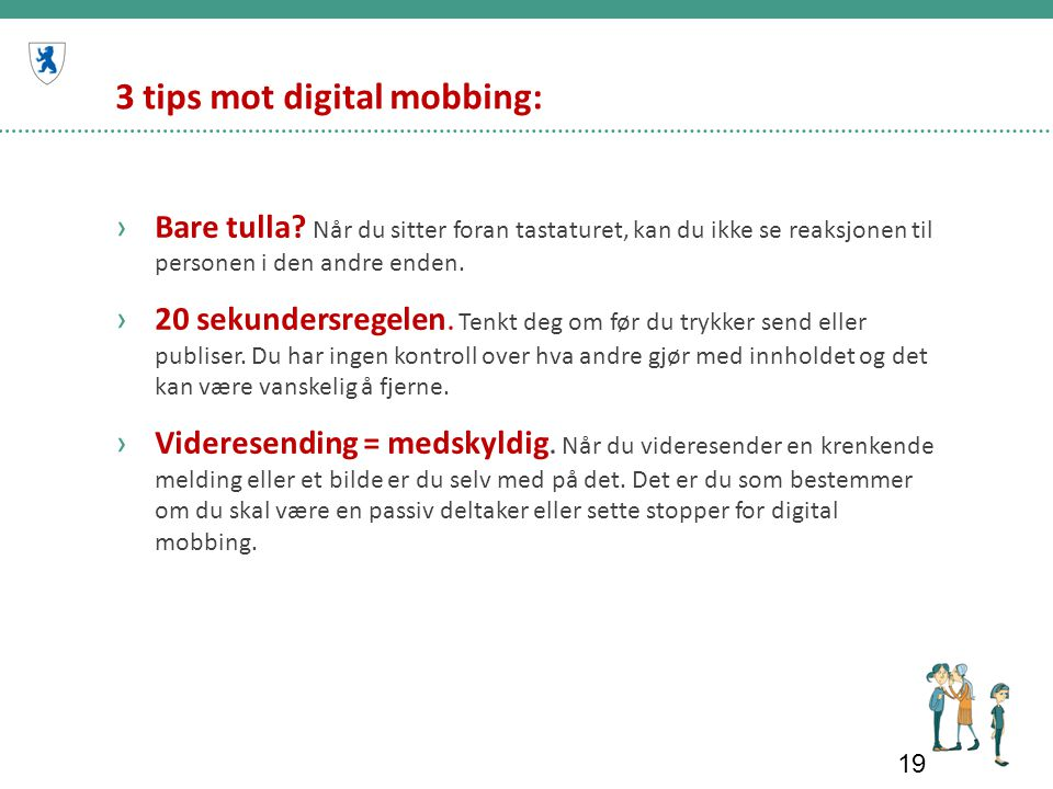 3 tips mot digital mobbing: