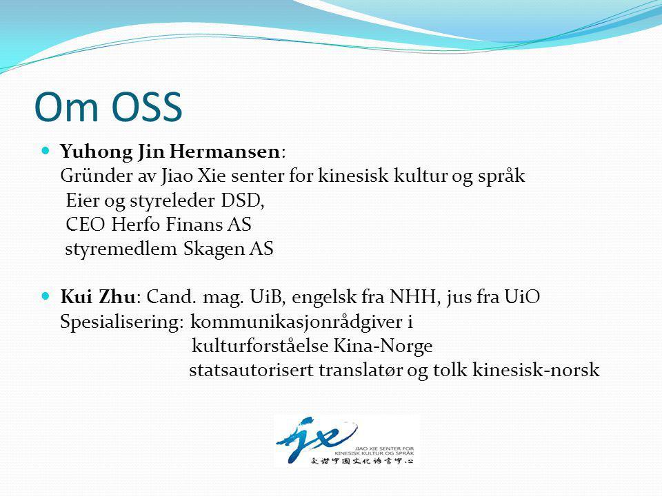 statsautorisert translatør og tolk kinesisk-norsk