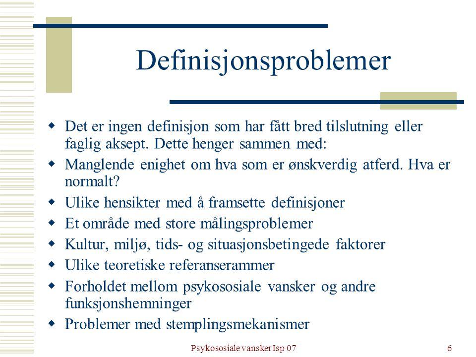 Definisjonsproblemer