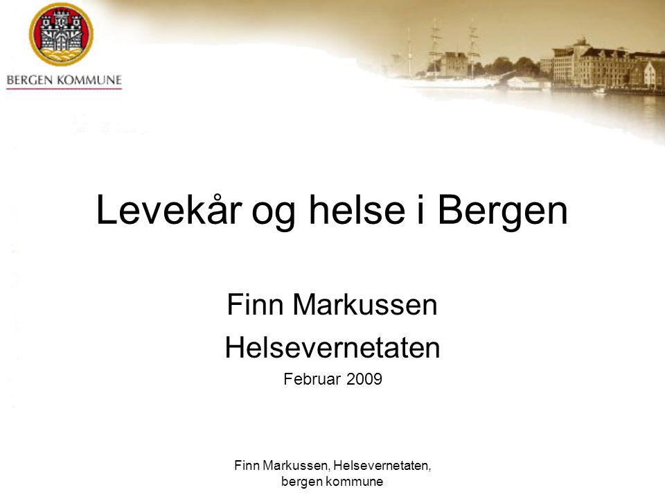 Levekår og helse i Bergen