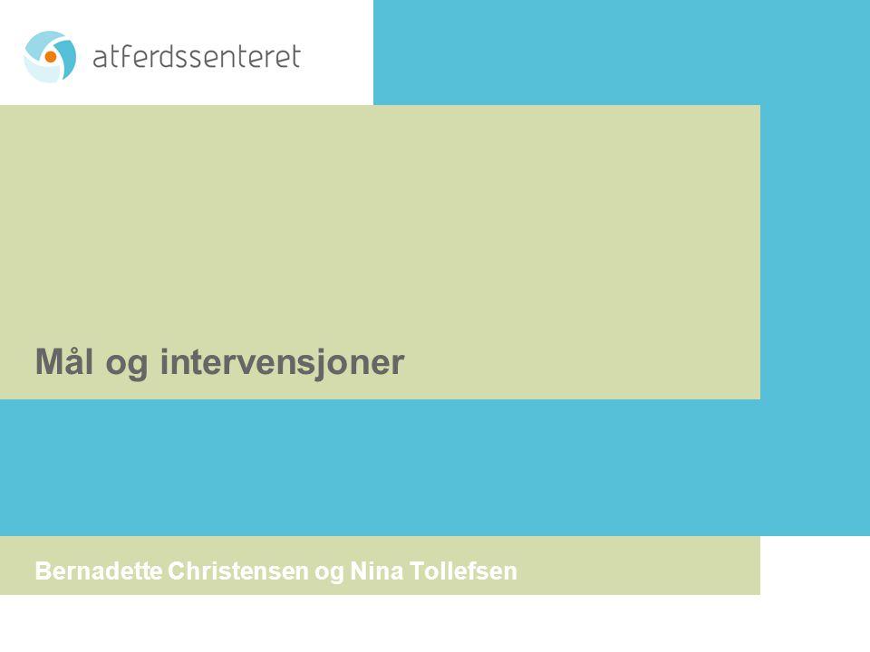 Bernadette Christensen og Nina Tollefsen