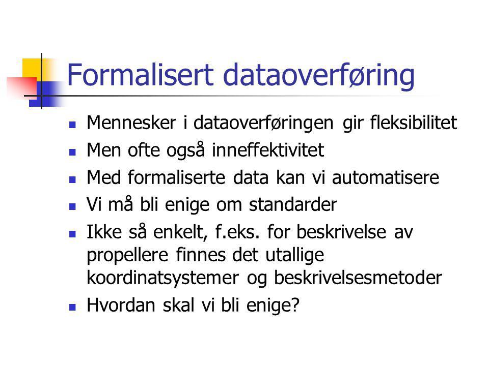 Formalisert dataoverføring