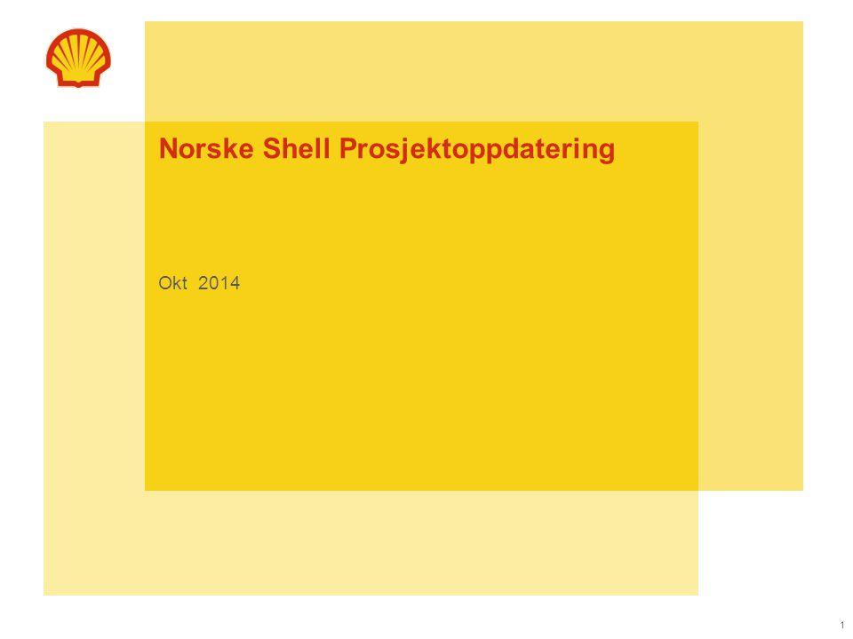 Norske Shell Prosjektoppdatering