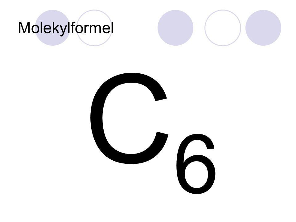 C6 Molekylformel Lysbilde 7
