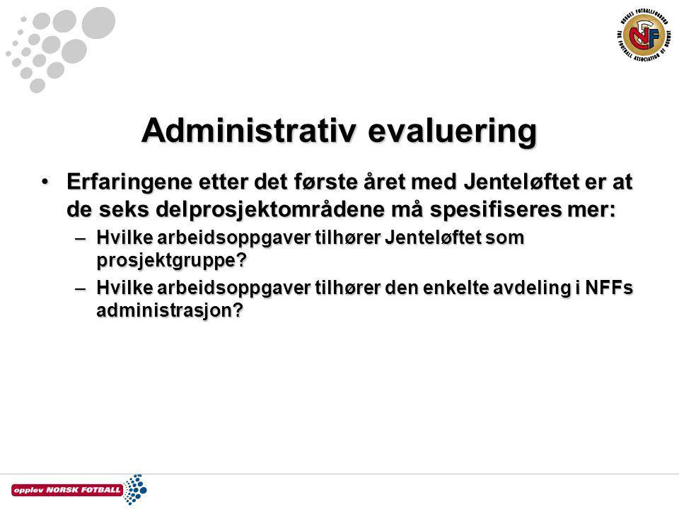 Administrativ evaluering