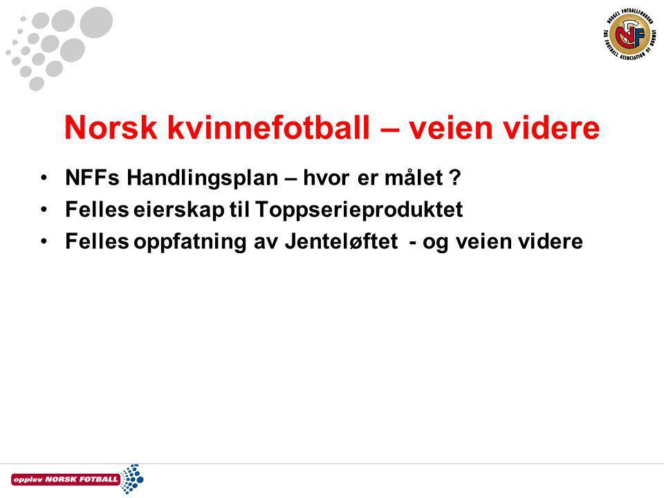Norsk kvinnefotball – veien videre