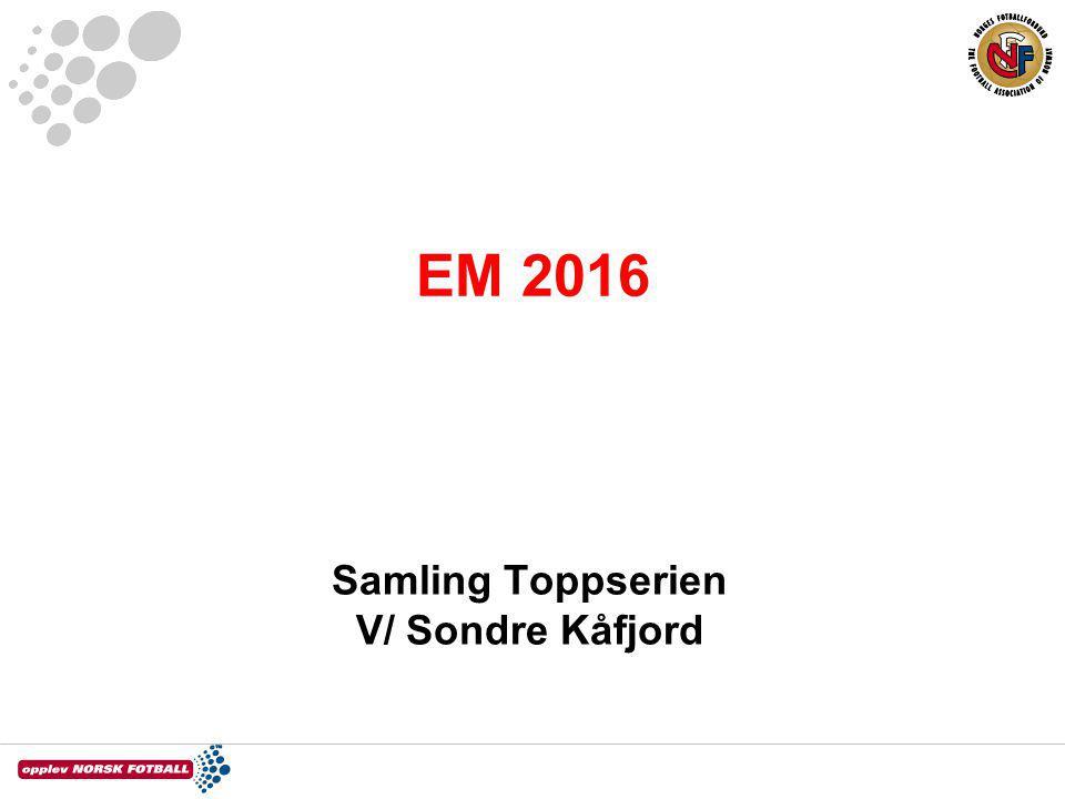 Samling Toppserien V/ Sondre Kåfjord