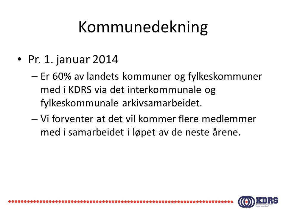 Kommunedekning Pr. 1. januar 2014