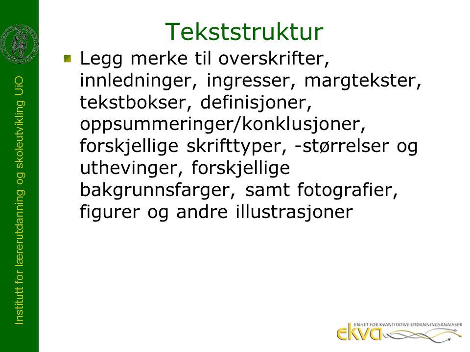 Tekststruktur