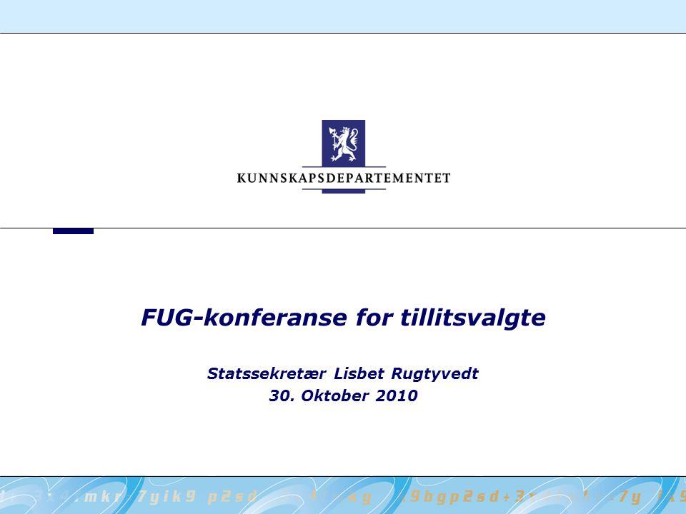 FUG-konferanse for tillitsvalgte