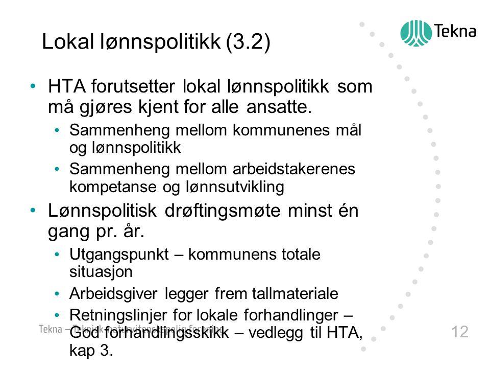 Lokal lønnspolitikk (3.2)