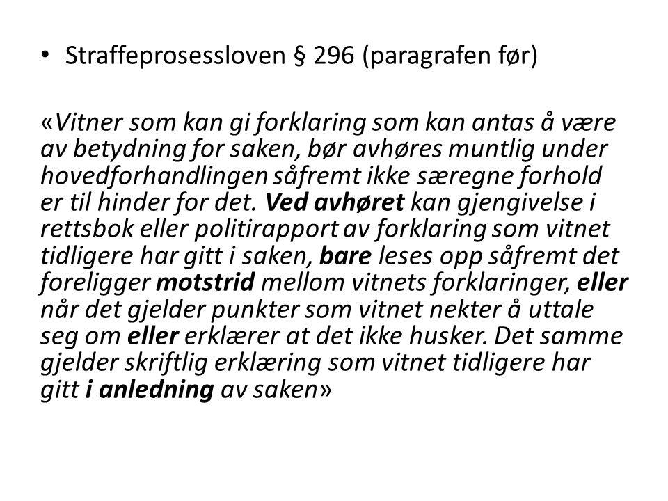 Straffeprosessloven § 296 (paragrafen før)