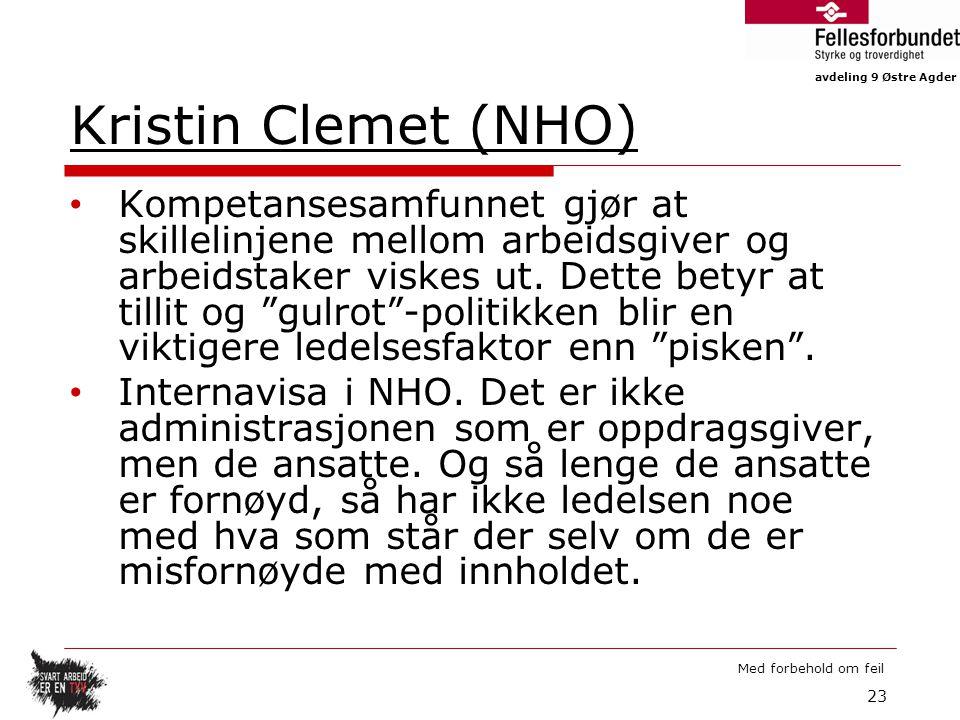 Kristin Clemet (NHO)