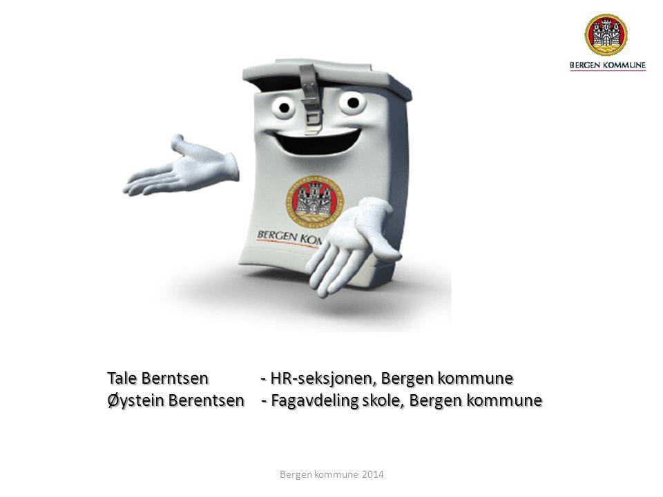 Tale Berntsen - HR-seksjonen, Bergen kommune